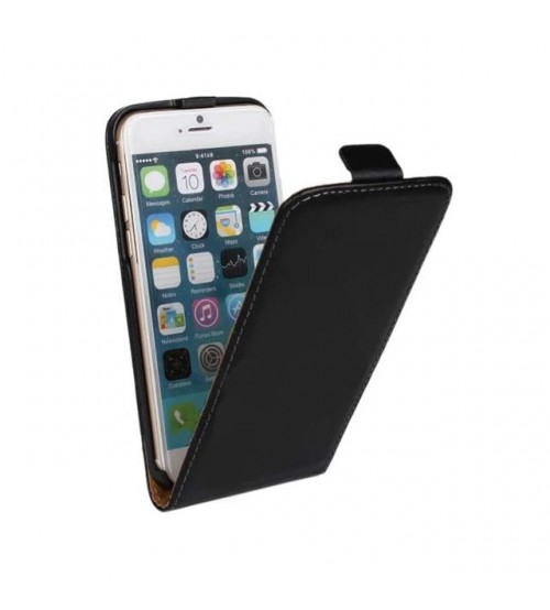 Калъф за iPhone 6/6s флип тефтер черен