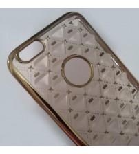 Силиконов калъф за iPhone 6/6s гръб Fashion златен