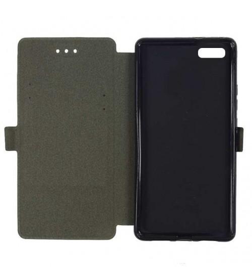 Калъф за iPhone 6 / 6s тефтер черен Book