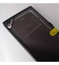 Калъф за iPhone 6/6s Plus флип тефтер черен страничен