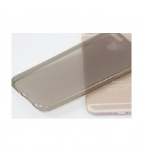 Силиконов калъф за iPhone 6/6s прозрачен гръб smoked