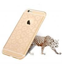 Силиконов калъф за iPhone 6/6s гръб Totu Design златист