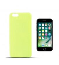 Силиконов калъф за iPhone 7 гръб Light Green