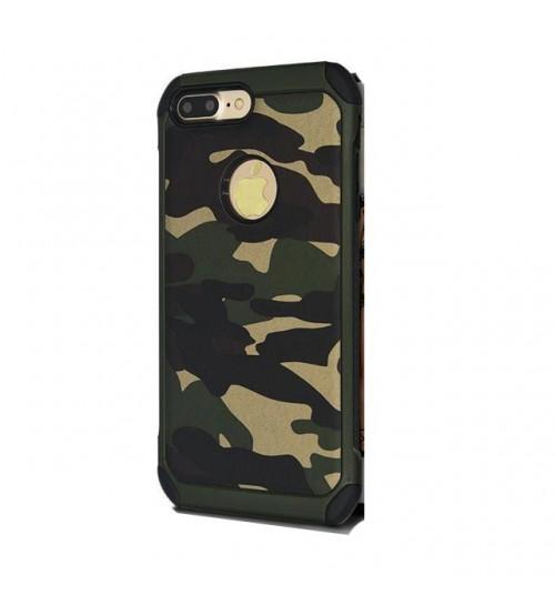 Калъф за iPhone 8 силиконов гръб камуфлажен