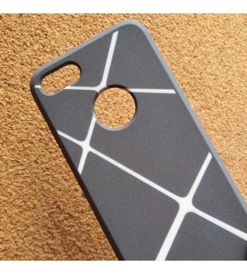 Калъф за iPhone 8 Cotton кейс сив фигури