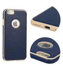 Калъф за iPhone 8 Vintage кейс тъмно син