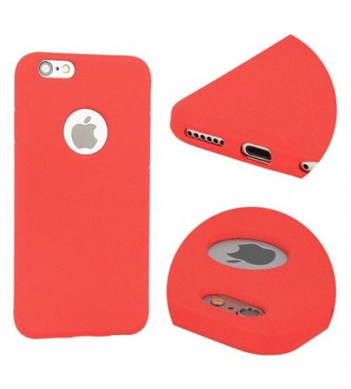 Калъф за iPhone SE 2020 Cotton кейс червен