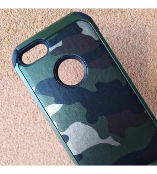 Силиконов калъф за iPhone SE 2020 гръб камуфлажен