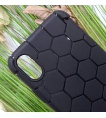 Силиконов калъф за iPhone X гръб TOTU Design черен