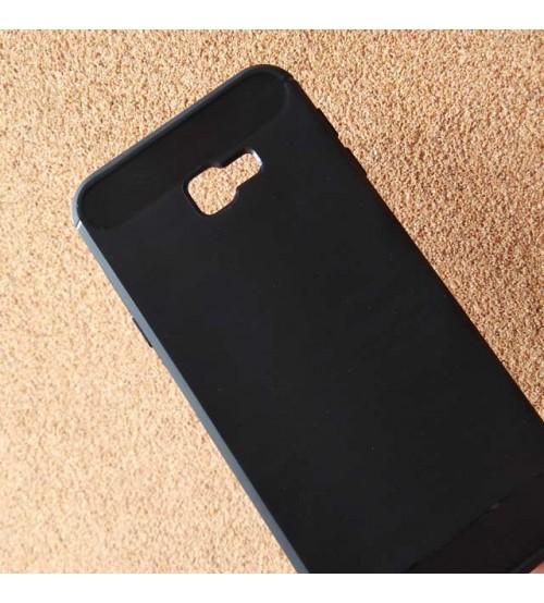 Силиконов калъф за Samsung J4 Plus J415 гръб черен карбон