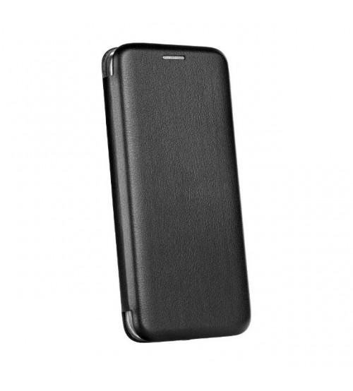 Калъф за Samsung J4 Plus J415 флип тефтер черен Lux