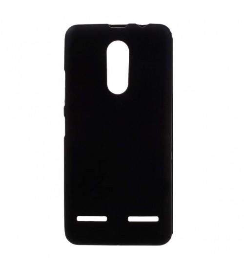 Калъф за Lenovo K6 силиконов гръб черен