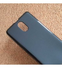Силиконов калъф за Lenovo Vibe P1m гръб черен мат