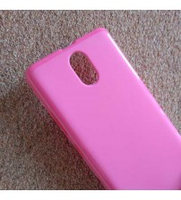 Силиконов калъф за Lenovo Vibe P1m гръб розов