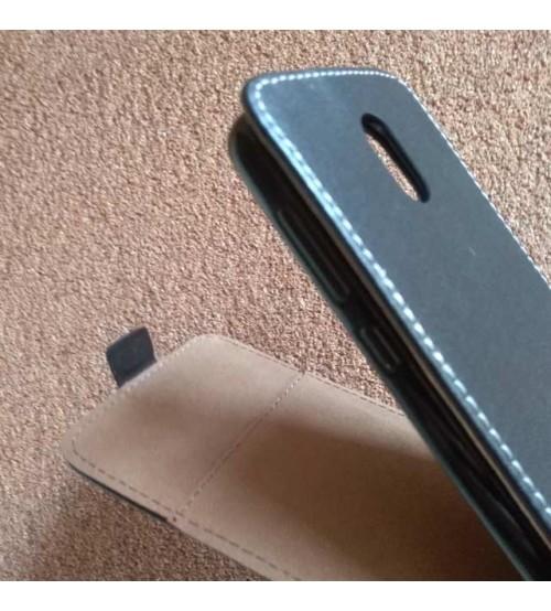 Калъф за Lenovo Vibe P1m флип тефтер черен Flexi