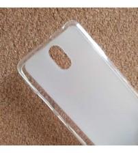 Силиконов калъф за Lenovo Vibe P1m гръб бял мат