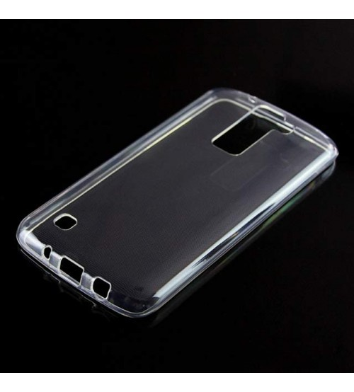 Калъф за LG K8 силиконов гръб прозрачен
