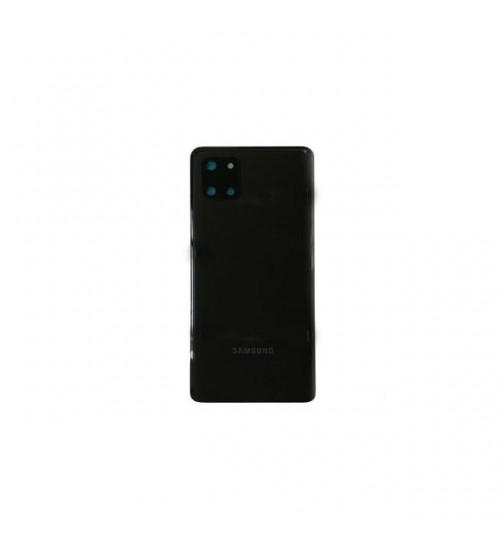 Заден капак за Samsung Note 10 Lite N770F черен