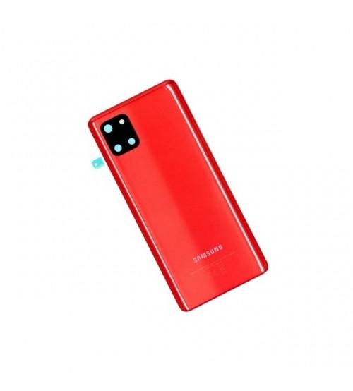 Заден капак за Samsung Note 10 Lite N770F червен