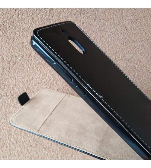 Калъф за Nokia 2.1 2018 тефтер черен Flexi