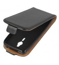 Калъф за Nokia 230 черен тефтер Flexi
