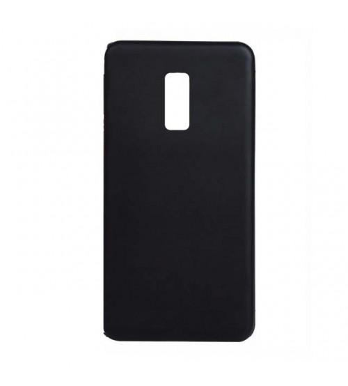 Силиконов калъф за Nokia 3 черен гръб