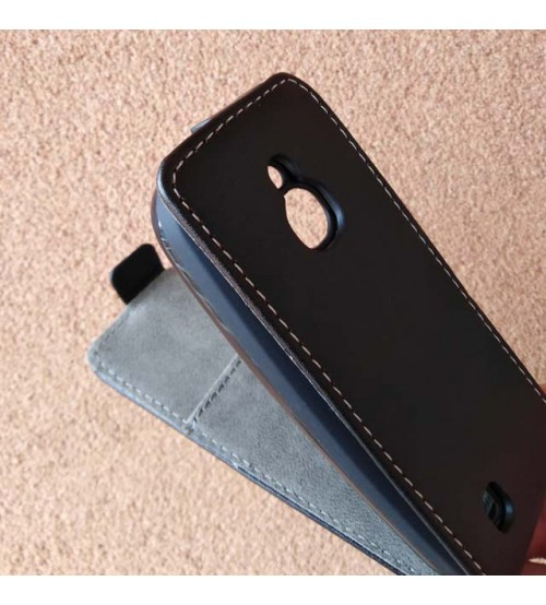 Калъф за Nokia 3310 4G 2018 черен тефтер Flexi