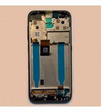 Дисплей с тъч скрийн и стъкло за Nokia 4.2 черен