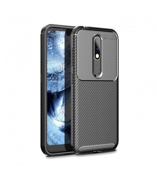 Калъф за Nokia 4.2 силиконов гръб черен Plaid