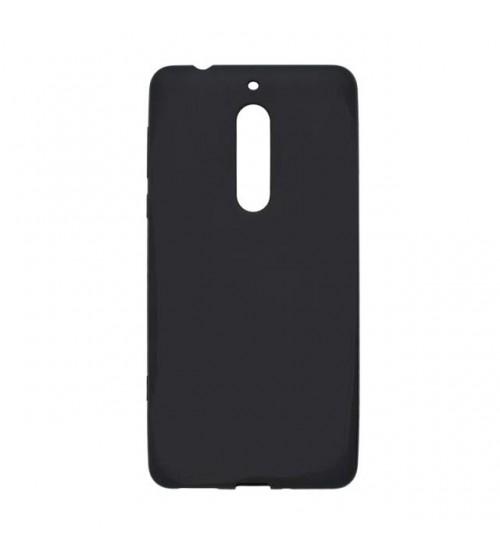 Калъф за Nokia 5 силиконов гръб черен