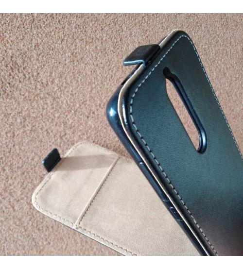Калъф тефтер за Nokia 5.1 черен Flexi