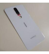 Заден капак за Nokia 5.1 Plus бял