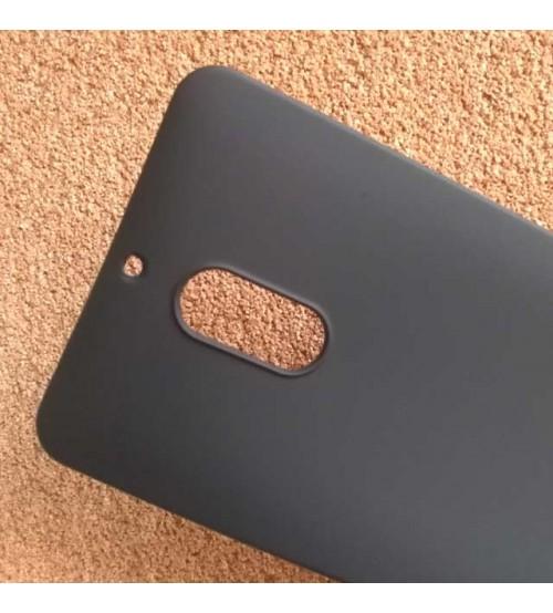 Силиконов калъф за Nokia 6 черен гръб Lux