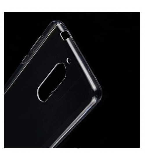 Силиконов калъф за Nokia 6 прозрачен гръб