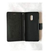 Калъф за Nokia 6 страничен тефтер Fancy Book черен