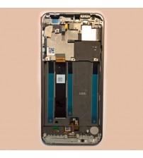 Дисплей с тъч скрийн и стъкло за Nokia 7.1 сив