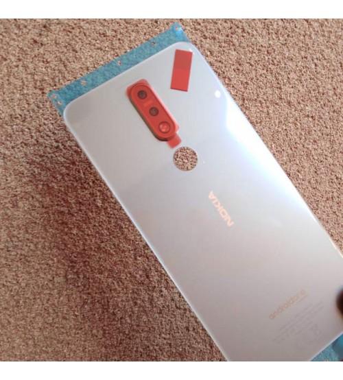 Заден капак за Nokia 7.1 Dual Sim сив