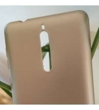Силиконов калъф за Nokia 8 златен гръб Lux