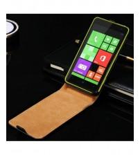 Калъф за Nokia Lumia 625 флип тефтер черен