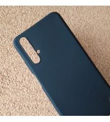Калъф за Huawei Nova 5T силиконов кейс черен мат