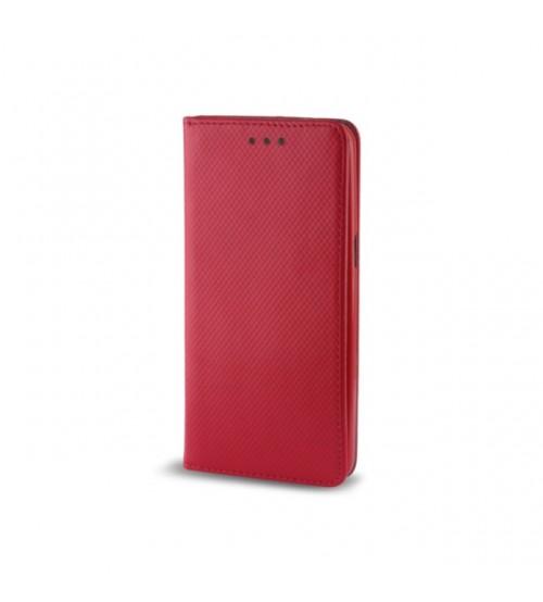 Калъф за Huawei P Smart 2019 тефтер с капаче Magnet Book червен