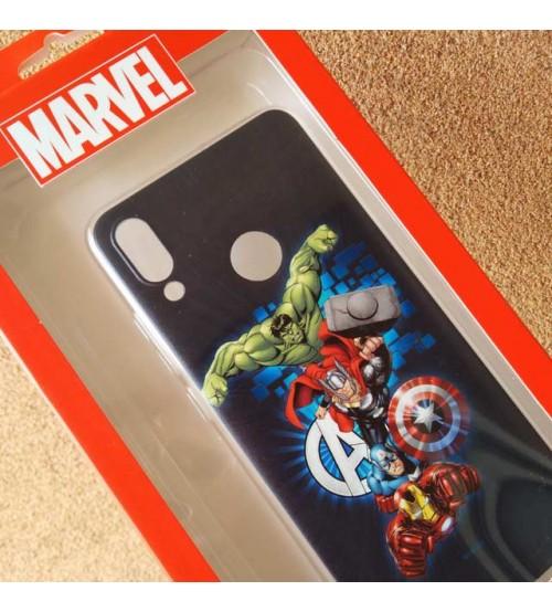 Калъф за Huawei P Smart 2019 силиконов гръб Avengers