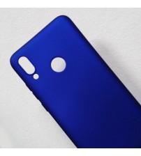 Силиконов калъф за Huawei P20 Lite гръб син Lux