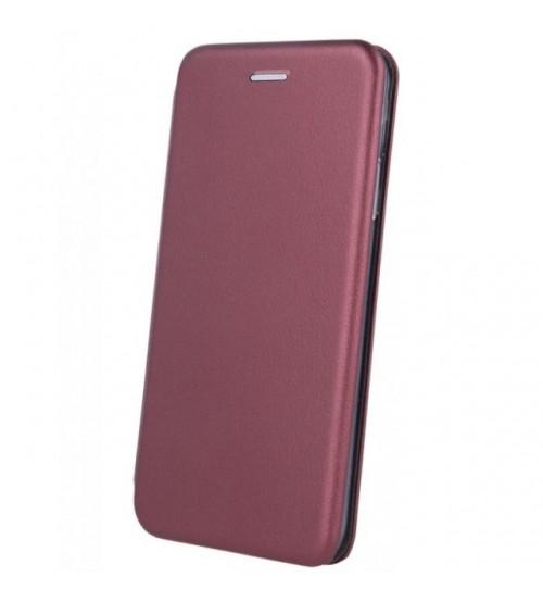 Калъф за Huawei P30 Lite тефтер Fashion Book бордо
