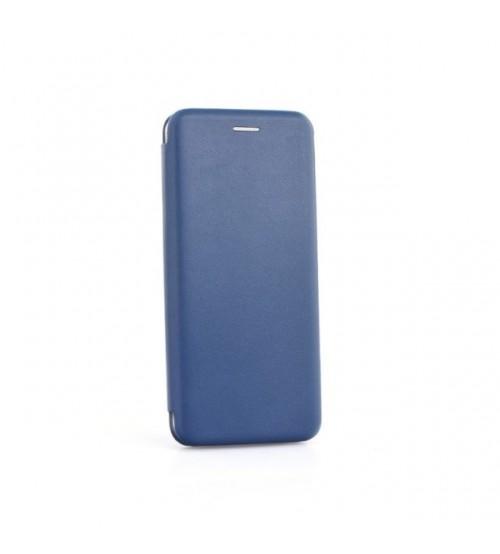Калъф за Huawei P30 Lite тефтер Fashion Book син