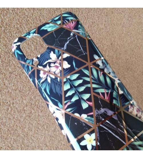 Калъф за Huawei P40 Lite силиконов кейс Marble