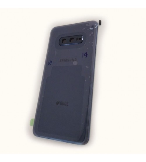 Заден капак за Samsung Galaxy S10e G970f черен