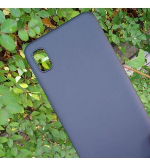 Калъф за Samsung A10 A105F силиконов гръб черен мат