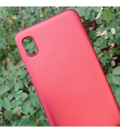 Калъф за Samsung A10 A105F силиконов гръб червен