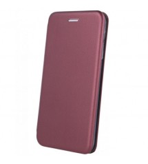 Калъф за Samsung A10 A105F тефтер тип книга Fashion бордо